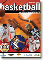 Basketball AA Boys Program 2011