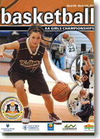 Basketball AA Girls Program 2011