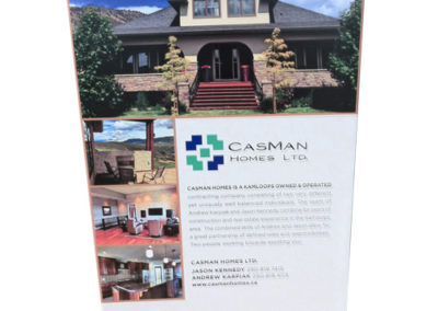 Casman Homes for Tobiano Rigid Sign