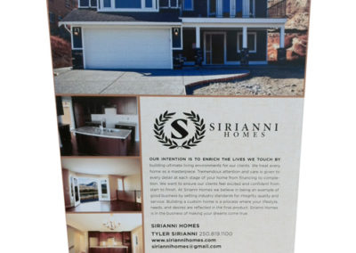 Sirianni Homes for Tobiano Rigid Sign