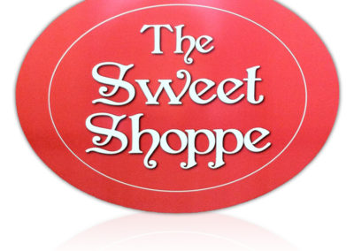 The Sweet Shoppe Rigid Sign