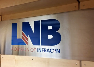 LNB Construction Indoor Sign