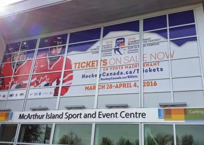 2016 Women's World Hockey Championships Signage
