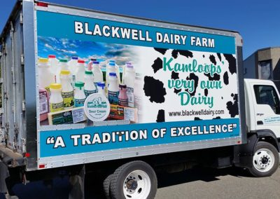 Blackwell Dairy Truck Sign - 1